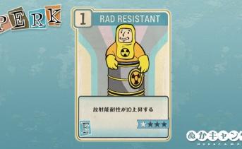 Fallout 76:Rad Resistant(Endurance)