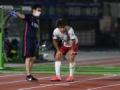 鹿島アントラーズに痛手 ... FW上田綺世の負傷を発表 ... 右足関節挫創で約1カ月離脱へ