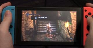 スイッチ版『ダークソウル』、携帯モードでの約20分間の直撮りプレイ映像が公開!