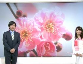 気象予報士・岡村真美子さん(30)が春休みの小学生みたいな衣装で登場!
