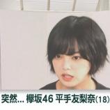 『【欅坂46】速報!!!news zeroで平手友梨奈の脱退、織田・鈴本の卒業についてニュース特集が組まれる!!!!!!!!!!!!』の画像