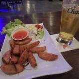 『2017年9月タイ旅行 5日目 コンケーン その24(レストランでイサーン・ソーセージを食べながらビール!)』の画像