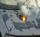 恐怖の兵器最先端、1.6km離れた車にレーザー光で穴が開く