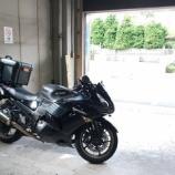 『バイクでキャリーカートを使った積載方法を考える』の画像