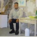 ギャラリーレブットで畑さんの個展開催中にポートレート写真を頂きました