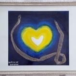 『完全な蛇の抜け殻を拾ったのでアートにしてみた【蛇の抜け殻は最強の金運アイテム?】』の画像