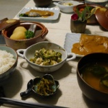 『今日の夕飯は和食! 月曜日と木曜日はお魚デー!!』の画像