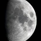『月齢8.3の綺麗なお月様』の画像