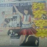 『【乃木坂46】SKE48松井玲奈 グループ卒業を決意!乃木坂ファンの反応・・・』の画像