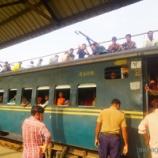 『バングラの鉄道へ乗車!さらばバングラ。そしてインドへ戻る』の画像