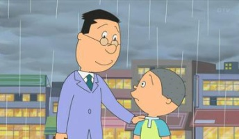 【闇深いサザエさん】サザエ「急に雨が降ってきたから駅まで傘を持って行ってあげて」