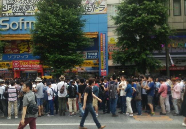 【変態の国】日本初大人のVR展、人数集まりすぎてイベントが中止に