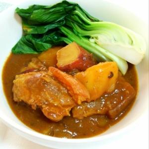 豚ちまきの焼豚カレー