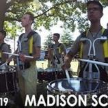 『【DCI】ドラム必見! 2019年マディソン・スカウツ・ドラムライン『インディアナ州インディアナポリス』本番前動画です!』の画像