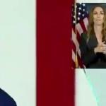 【動画】米国、バイデン氏、一体何言ってるのか訳が判らなくて手話通訳担当者も困惑 [海外]
