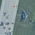 ステルス爆撃機B-2、滑走路から逸脱する事故