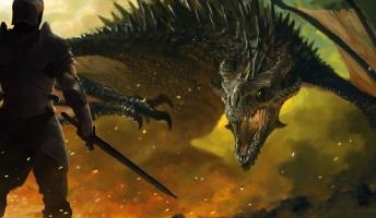 西洋風ファンタジー世界=ドラゴン、ゴブリン、プリースト、ナイト=格好いい
