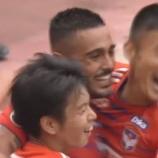『[新潟] 3試合ぶり勝利!! FWレオナルド 後半ATに2ゴール!! 20得点で得点ランキング暫定首位タイ!』の画像