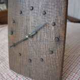 『樽材の時計』の画像