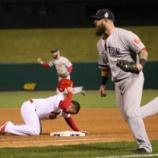 『【MLB】「上原の動き良かった」 けん制で刺されて試合終了を迎えたカージナルス・ウォン、悔しさのあまりクラブハウスで涙を流す』の画像