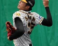 阪神・才木、オープン戦開幕投手に決定