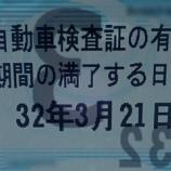 『【スタッフ日誌】車検の有効期間延長について』の画像