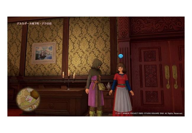 【ドラクエ11】PS4の街にいる女キャラが可愛い!パート2【mob編】
