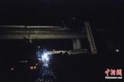 中国高速鉄道脱線事故の現場近くで、新たに乗客1000人の高速鉄道が事故
