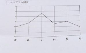 「エゴグラムテスト」の結果