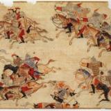 【画像】全盛期のモンゴル、世界の4分の1を支配していた