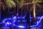 『天の川七夕まつり』の夜はライトアップが幻想的だった!