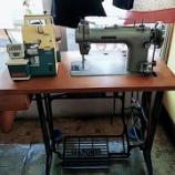 『【寄付ミシンプロジェクトのご報告】山梨県甲府市の方からジャノメ製足踏みミシンとJUKI製家庭用ロックミシンの寄付がありました!】』の画像