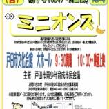 『親子ふれあい映画会「ミニオンズ」12月16日(日)10時から戸田市文化会館大ホールで開催(事前申込不要・入場無料)開場は9時半です。』の画像