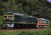 『2020/8/21運転 EF81-113牽引キハ120形敦賀配給』の画像