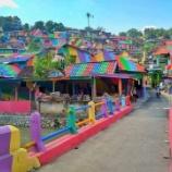 『色の力:スラム街がカラフルにして活性化』の画像