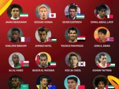アジアカップ公式が各国のキープレーヤーを紹介!日本代表は本田圭佑!