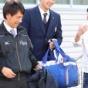 【悲報】阪神D2・井上、下校途中に駅の階段で転倒し右足首ねんざ