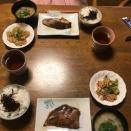 今日の夕食 鯛