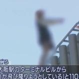 『大阪駅の飛び降り女性の現場「大丸梅田店大丸ビル」に心霊写真が映ったと2chで話題に【画像】』の画像