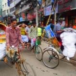 『【カオス】バングラ ダッカの刺激的な街並み!【動画あり】』の画像