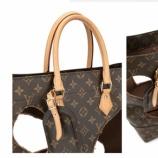 『【画像】世界的ハイブランドのルイ・ヴィトンさん、穴が空きまくった衝撃のバッグを販売してしまうwwwww「こんなのが◯◯◯万とかマジかよ」「ファッション界って辛そうだな」』の画像