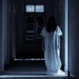『【心霊スポット】白装束の黒髪の幽霊と眼が合った』の画像