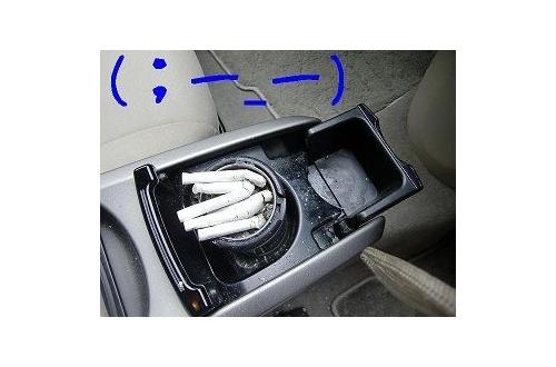 後輩の車にて俺「タバコ吸っていい?」後輩「いいっすよ」のサムネイル画像