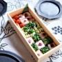 おうちでお花見弁当~♪自宅にあるもので簡単春を感じる押し寿司~ヾ(´∀`)ノ