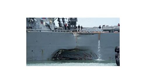 「偶然が多すぎる」米イージス艦の2度目の衝突事故に米国民は疑心暗鬼