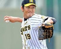 阪神・藤浪 1イニングを投げて2安打、無四死球、無失点