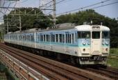 『2018/8/1運転 新潟車両センター115系L99編成廃車回送』の画像