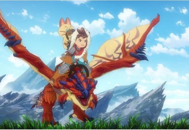 モンハンアニメ、日曜朝8時30分から放送開始