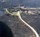ラジコンヘリが墜落し河川敷が火災に… 23ヘクタール焼く 京都・宇治川