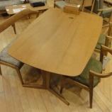 『【北欧テイスト・日進木工の家具2012】geppoシリーズのNEW ITEM シートベンチ・NFC-781』の画像